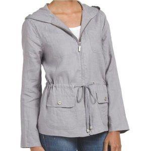 ST. Tropez Linen Utility  Jacket
